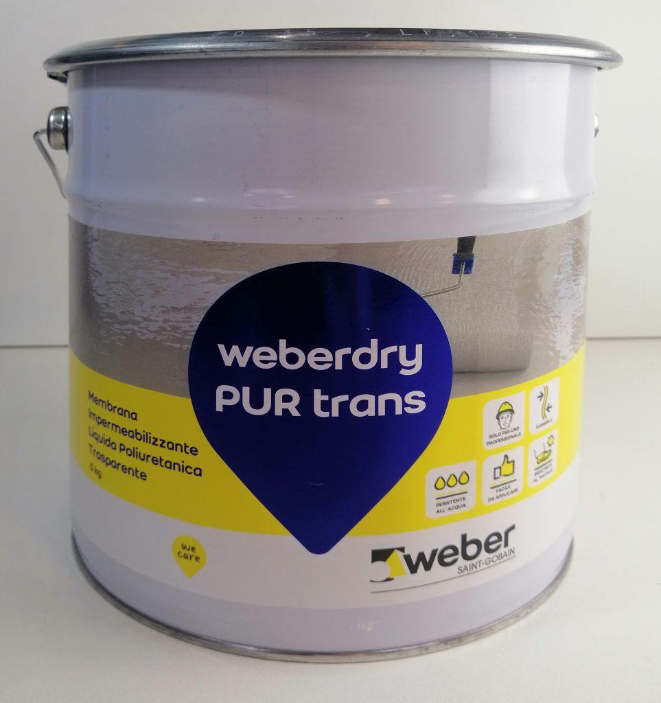 impermeabilizzante poliuretanico trasparente